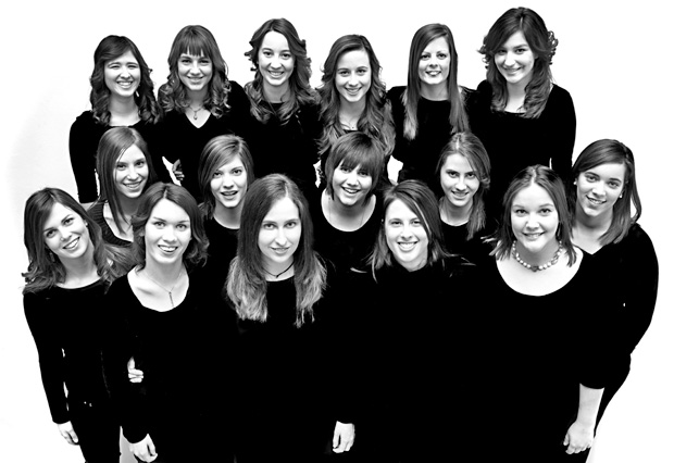 Il coro fotografato nel 2010